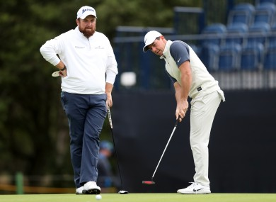 McIlroy is glad Lowry isn't in Memphis this week.