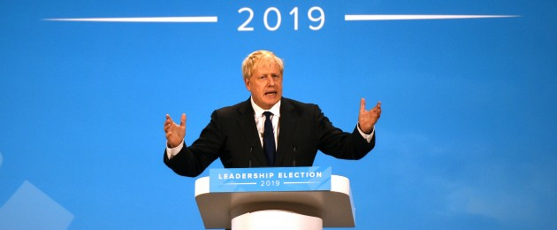 Boris Johnson has been elected Conservative party leader.
