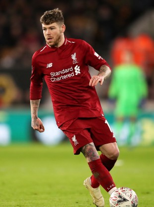 Moreno in action for Liverpool.