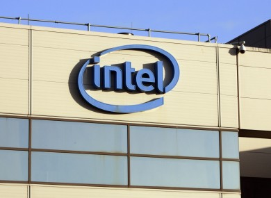 File photo of Intel plant in Leixlip, Co Kildare.