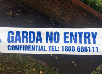 Gardaí are appealing for witnesses.