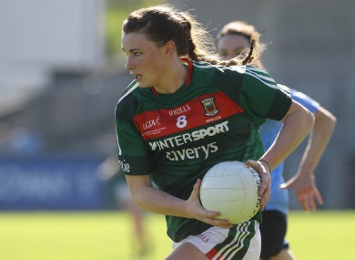 Aileen Gilroy was in action for Mayo in last Sunday's All-Ireland semi-final.