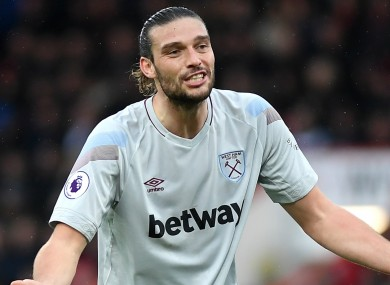 Andy Carroll (file pic).