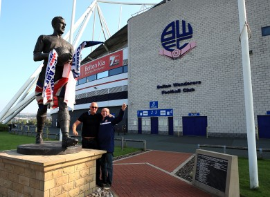 Bolton has been purchased by Football Ventures (Whites) Limited.