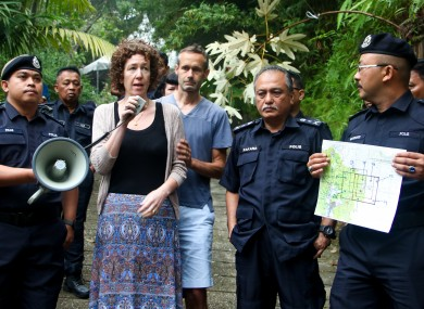 Meabh Quoirin thanks Malaysian authorities for their efforts to find Nora.