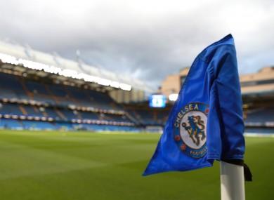 A view of Stamford Bridge.