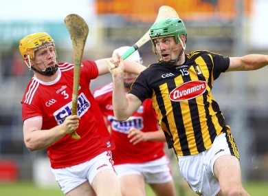 Eoin Cody in action against James Keating.