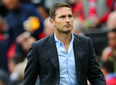 Frank Lampard (file pic).