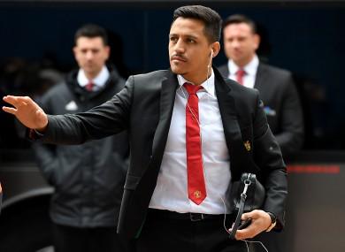 Sanchez didn't feature in United's opening Premier League fixture.
