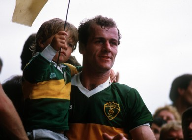 Jack O'Shea won seven All-Ireland senior medals with Kerry.