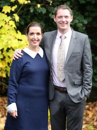 Patient advocates Vicky Phelan and Stephen Teap.