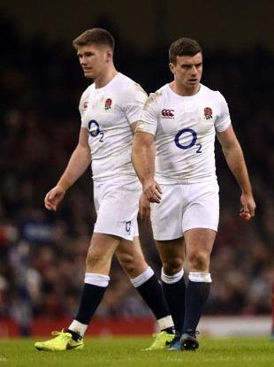 File photo: Farrell and Ford were regular fixtures in the England back-line through Jones' first two years in charge.
