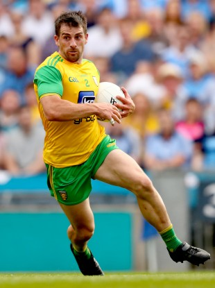 Donegal defender Paddy McGrath.