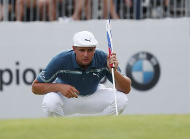 Bryson DeChambeau has come in for criticism recently.