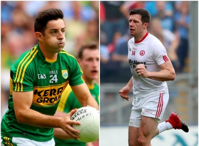 Aidan O'Mahony and Sean Cavanagh.