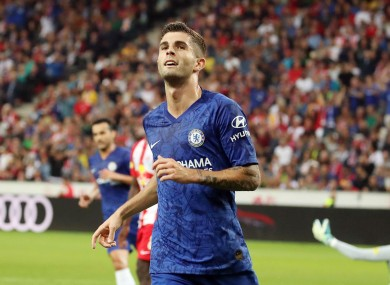 Chelsea new man Pulisic.