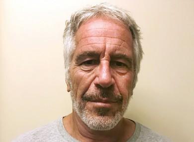 Jeffrey Epstein who was found dead on Saturday in a Manhattan jail cell.