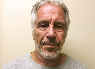 Epstein was facing sex trafficking charges.