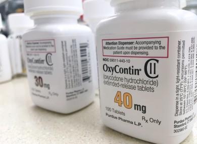 File photo. Oxycontin