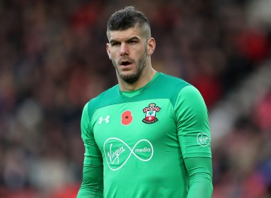Forster has lost his place in the Southampton team.
