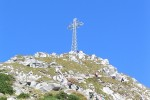 The cross on Mount Giewont.