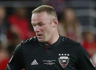 Wayne Rooney will leave DC United at the end of the year.