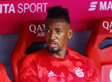 Jerome Boateng (file pic).