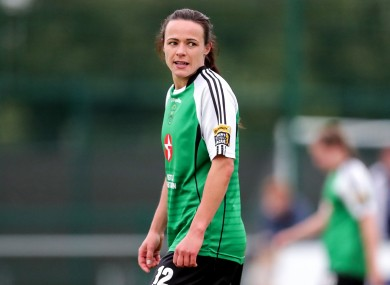 Peamount's Aine O'Gorman scored a hat-trick (file pic).