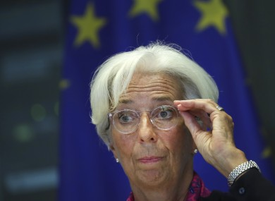 Incoming President of the European Central Bank Christine Lagarde.