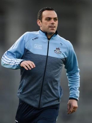 Dublin selector and 2011 All-Ireland winner Paul Casey.