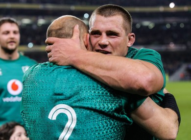 Stander was full of praise for the Irish leader after defeating Scotland.