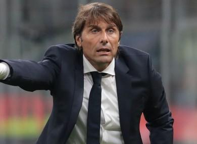 Inter head coach Antonio Conte.