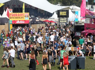 A file photo of the Electric Picnic.