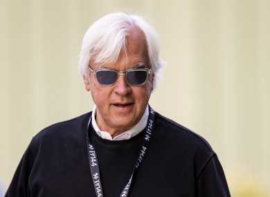 Bob Baffert (file pic).