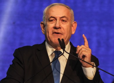 Prime minister Netanyahu has a battle on to stay in power.