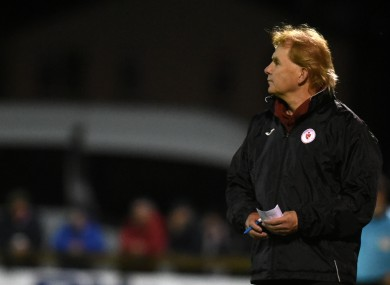 Buckley and Sligo join Shamrock Rovers in the final four (file photo).