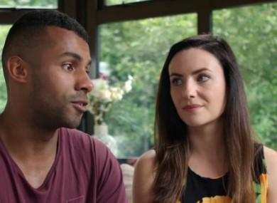 Fiona Ryan and Jonathan Mathis