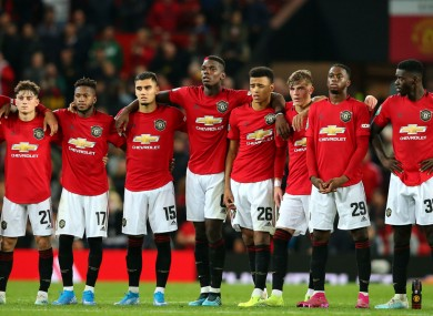 Manchester United will face Chelsea in round four of the EFL Cup