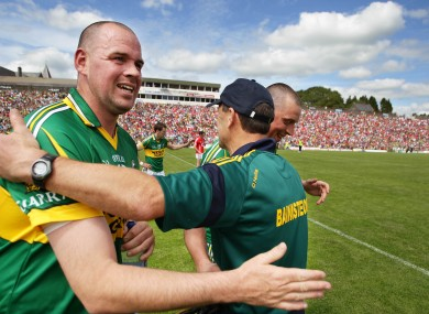 Quirke lined out for Kerry between 2003 and 2011.