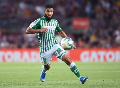 Fekir now plays for Real Betis.