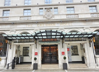 The Gresham Hotel Plans To Remove Over Half Its Car Parking