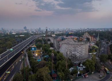 La Feria amusement park, Mexico City.