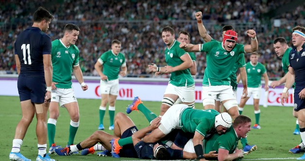 As it happened: Ireland v Scotland, Rugby World Cup