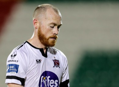 Chris Shields will miss Sunday's FAI Cup final.