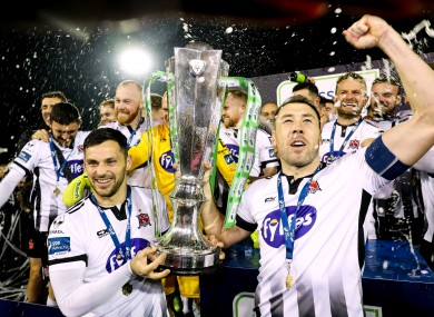 Dundalk are crowned champions again.