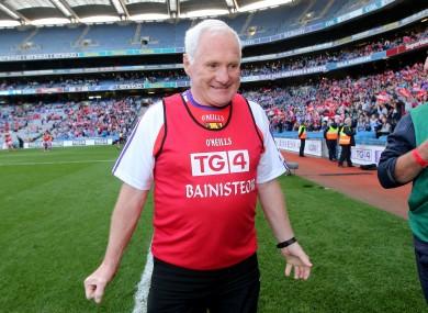 Legendary Cork manager Eamonn Ryan.