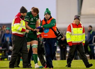 Gavin Thornbury leaves last weekend's clash with the Cheetahs through injury.