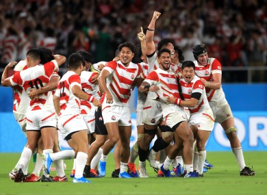 Japan will look to seal a quarter-final place.