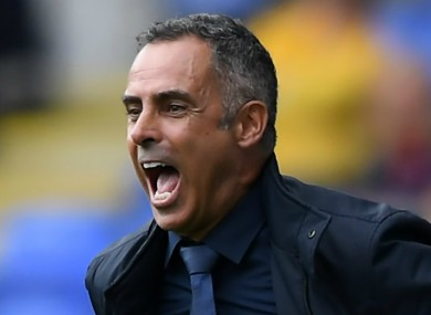 Former Reading manager Jose Gomes.