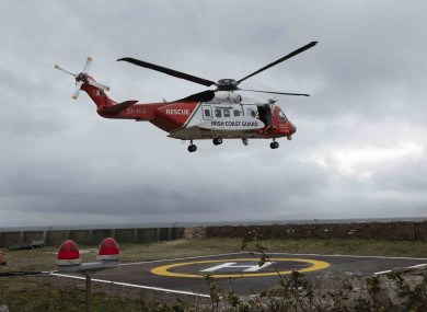 A search operation was launched in Dunmanus Bay yesterday evening  (file photo)